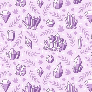 Crystal Chintz Lavender Purple