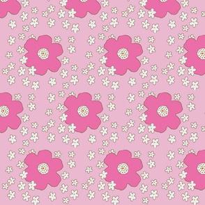blooming retro pink