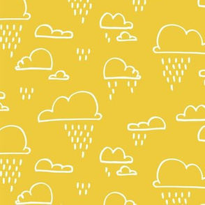 Clouds Rain Yellow