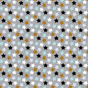 Stars / Blue / Brown / Grey