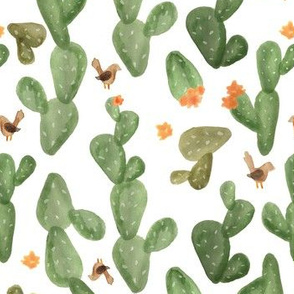Cactus Watercolor