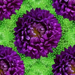 Jewel Tone 70s Flower Power