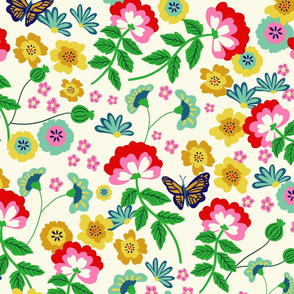 Chintz Bright Floral