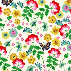 Chintz Bright Floral