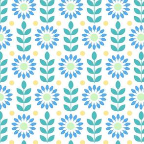 Flower Power - Jewel Tones