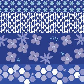 Floral border_blue_©Solvejg_Makaretz