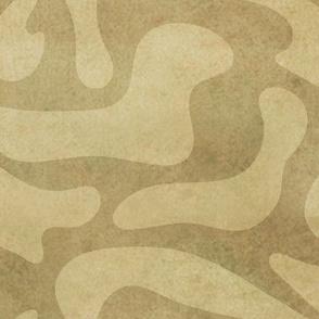 Wavy Bark Pattern Brown