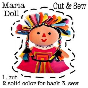 Mexican Maria Doll