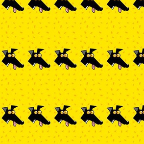 row of derps yellow (martingales)