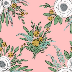 Pink Floral Chintz