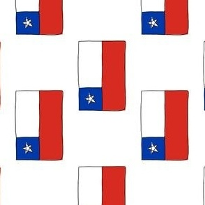 Chile Flag Rotated