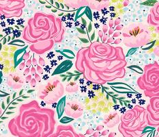 chintz roses/large scale