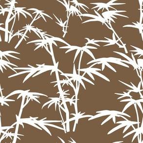 White Bamboo Bush