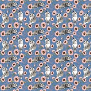 Chintz Flowers Bunnies 5-01