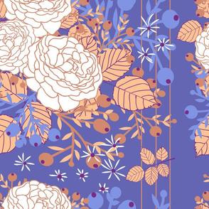 Chintz Rose Floral Pattern