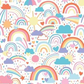 Rainbows and Rainclouds