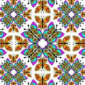 Butterflies Flutterby Kaleidoscope