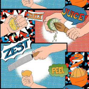 Zest Squeeze Pop