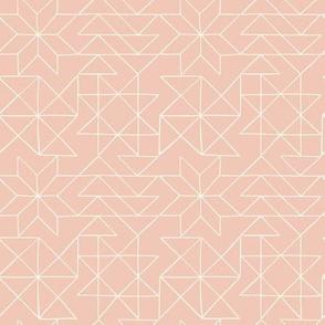 Wonderland Quilt Pattern in Light Pink