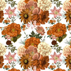 Gorgeous Vintage Fall Blooms