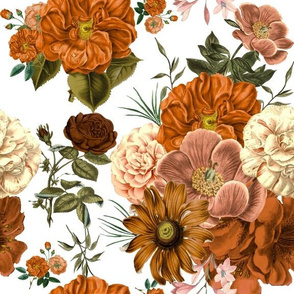 Vintage Bunch of Flowers