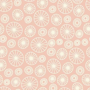 Wonderland I Want To Ride My Bicycle - light pink