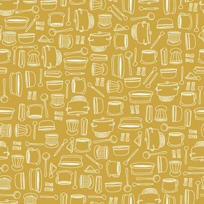 Pots and Pans - Yellow