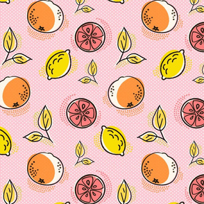 Citrus Pop Pinks