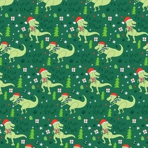 Fa La Rawr T-Rex Christmas Dinosaur, small