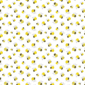 Cute Bee Pattern for Kids