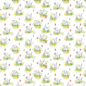Cute Lamb Pattern for Kids