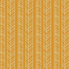 Fallen Stripes Mustard