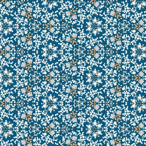 Kaleidoscop Blue Small