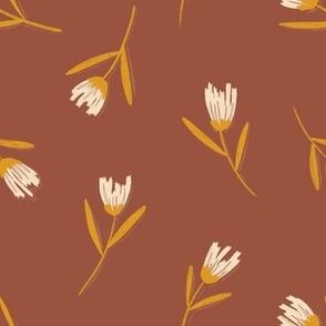 Wildflowers on Rust