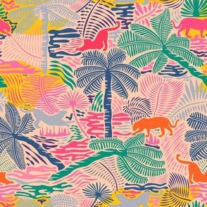 Jungle Magic / Colorful Crayon - Small Scale