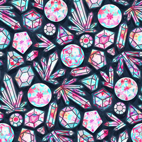 Kaleidoscope Crystals (Large Version)