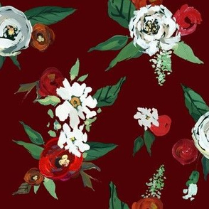 Christmas Roses // Aggie Red