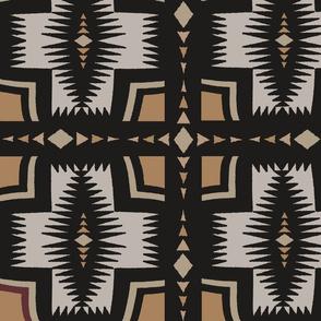 Southwest Folk Art - Chocolate