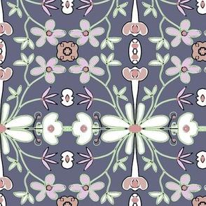 FLOWER GARDEN-GREY