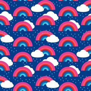 Rainbows, Clouds and Rain