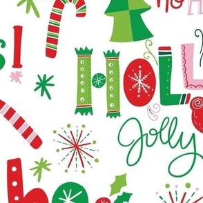 Festive Christmas Lettering