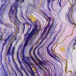 purple geode rotated