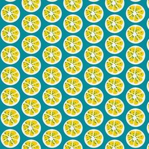 citrus spots (lemon) ©2011 Jill Bull