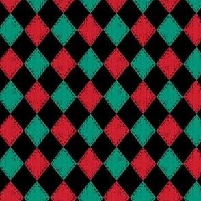 Checkered Diamond Holiday