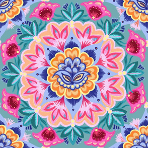 Unfolding symmetry in reverse