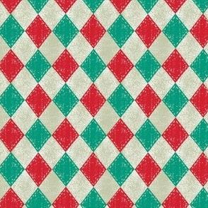 Checkered Diamond Christmas