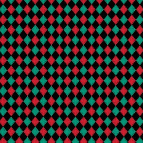 Mini Checkered Diamond Holiday