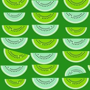 watermelon slices (green)