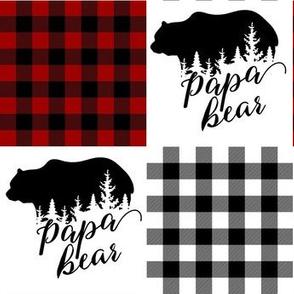 Papa Bear Patchwork