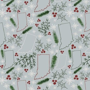 IN Christmas Pattern